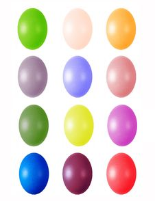 Free Colorful Easter Eggs Royalty Free Stock Images - 4571379
