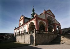 Free Monastery Svata Hora Royalty Free Stock Photo - 4571765