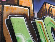 Free Graffiti Writing Royalty Free Stock Image - 4571866