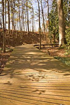 Free Wood Walkway Royalty Free Stock Image - 4572306