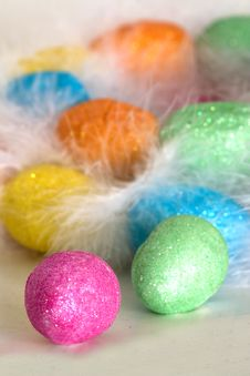 Free Easter Eggs In The Nest Royalty Free Stock Photos - 4572378
