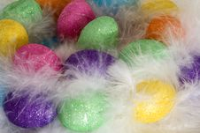 Free Easter Eggs In The Nest Royalty Free Stock Image - 4572436