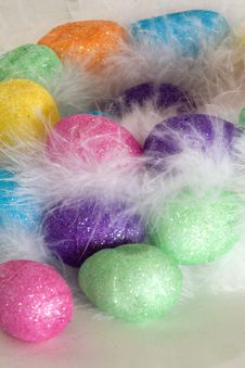 Free Easter Eggs In The Nest Royalty Free Stock Photo - 4572455