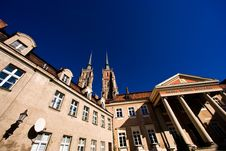 Free Monuments In Wroclaw, Poland Stock Image - 4573151