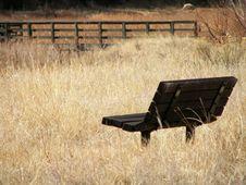Free Deserted Bench Stock Photo - 4573240