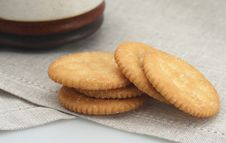 Free Crackers For Breakfast Royalty Free Stock Image - 4573866