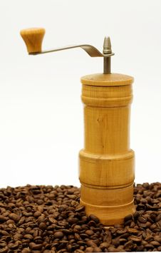 Free Old Coffee-grinder. Royalty Free Stock Images - 4574579