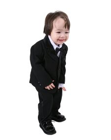 Free Child Tuxedo Stock Photos - 4574713