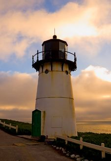 Free Lighthouse At Sunset Stock Images - 4575084
