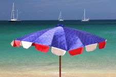 Free Beach Umbrella Stock Photography - 4575432