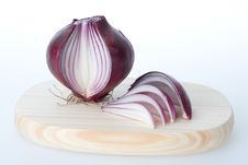 Free Onion On White Background Royalty Free Stock Photography - 4575467