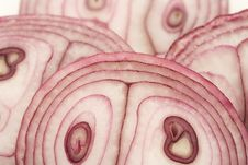 Free Sliced Red Onion Royalty Free Stock Photo - 4575495