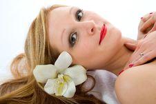 Free Attractive Woman Getting Spa Treatmen Stock Photos - 4576033