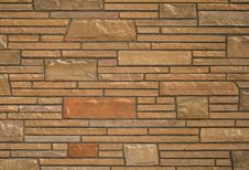 Free Stone Brick Wall Texture Royalty Free Stock Photo - 4576305