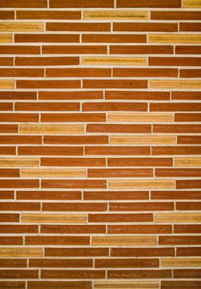 Free Slim Brick Wall Texture Stock Images - 4576324