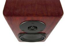 Free Wooden Loudspeaker Box Top View Stock Images - 4576414