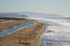 Free Hazy Beach Royalty Free Stock Images - 4576849