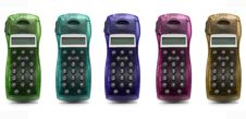 Free Colorful Phones Royalty Free Stock Image - 4577256