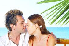 Free Tropic Couple Royalty Free Stock Photos - 4577808