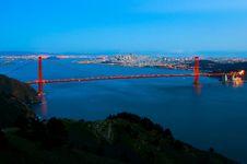 Free San Francisco Skyline At Night Royalty Free Stock Photo - 4577965