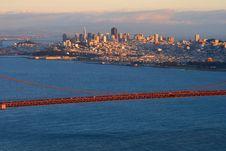 Free San Francisco At Sunset Royalty Free Stock Photo - 4577995