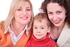 Free Mother, Grandmother, Daughter Royalty Free Stock Photos - 4578008