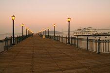 Pier 7 In San Francisco Stock Image