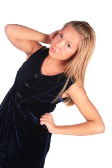 Free Blond Girl Posing Royalty Free Stock Image - 4578396