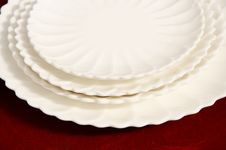 Free White Plates Stock Photo - 4578860