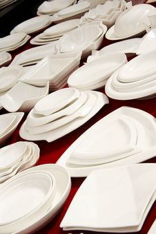 Free Dishware On Sale Stock Photos - 4578883