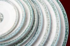 Free A Pile Of Plates On Sale Stock Photo - 4578900