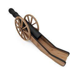 Field-gun, Cannon Stock Image