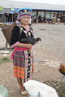 Free Hmong Woman In Laos Royalty Free Stock Images - 4579599