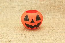 Halloween Jack The Lantern Pumpkin Royalty Free Stock Photo