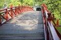 Free Red Bridge In Hanoi Stock Images - 4580644
