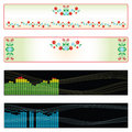 Free Web Banner Variations 2 Stock Photo - 4580880