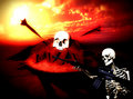 Free War Skeleton War Background 6 Royalty Free Stock Photo - 4581305