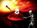 Free War Skeleton War Background 8 Royalty Free Stock Images - 4581339