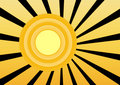 Free Retro Sun Royalty Free Stock Photography - 4582677
