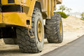 Free The Rolling End Of A Dump Truck Stock Photography - 4584142