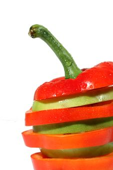 Free Red Bulgarian Pepper Royalty Free Stock Photos - 4580048