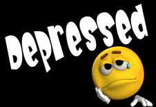 Free Depressed 3 Royalty Free Stock Image - 4580266