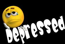 Free Depressed 4 Royalty Free Stock Photography - 4580267