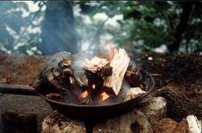 Free Burning Royalty Free Stock Photos - 4580358