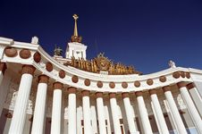 Free The All Russian Exhibition Hall Stock Photo - 4580780