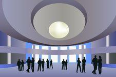 Free Big Hall Vector Stock Photo - 4580930