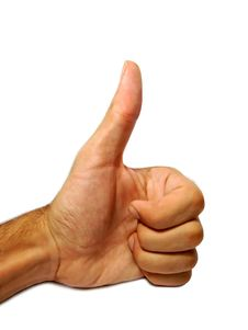 Free Thumbs Up Royalty Free Stock Photo - 4581185