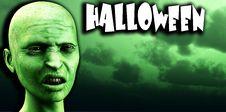 Free Zombie Halloween Stock Image - 4581201