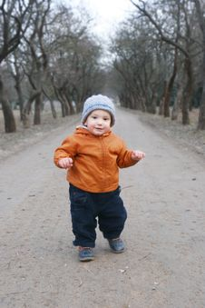 Free Baby Boy In Park Royalty Free Stock Photo - 4581735