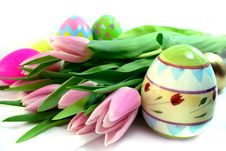 Free Colorful Easter Eggs Royalty Free Stock Photography - 4582217